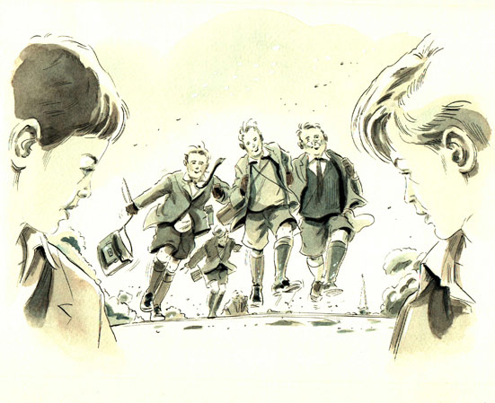 Linda Clark Illustration - Harry's Battle of Britain